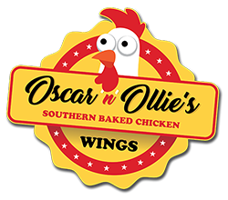Oscar 'n' Ollies Baked Chicken Wings Logo